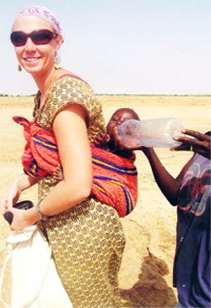 Katie Wilke is a Peace Corps volunteer in Senegal in Aram, a remote village of 1,000 people on a tributary of the Senegal River