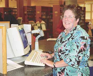 Peace Corps draws Newport librarian Kay Eldon away for two years service in Ukraine