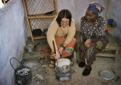 Keyna Bugner arrived at the village of Mtambe in Zambia in August 2005 and moved her belongings into a mud-covered, wood-frame house with a thatch roof