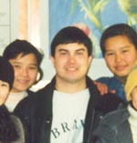 Kevin Miller served as a Peace Corps  Volunteer in Karatau, Kazakhstan (1997-99), where he taught English and Computer Keyboarding at a local high school