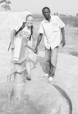 Laraine Martin recently returned to the U.S. after two years serving as a Peace Corps volunteer in Togo