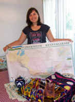 Although she had no idea where Uzbekistan was, Laura Paul left Olathe last August for a two-year Peace Corps assignment in Central Asia