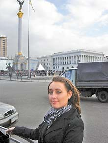 Laurel Gwizdak is living in Shevchenkove as a member of the Peace Corps in Ukraine