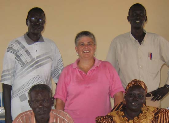 Rev. Lauren R. Stanley (RPCV Kenya) is an appointed missionary serving in the Diocese of Renk in the Episcopal Church of Sudan