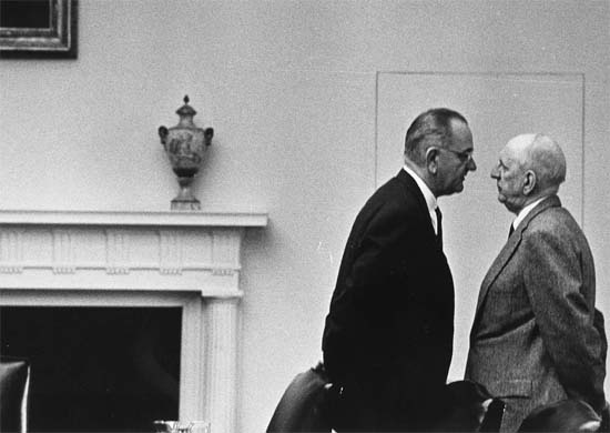  LBJ and Richard Russell