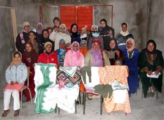 Lindsey Ludwig served as a Peace Corps Volunteer in Morocco