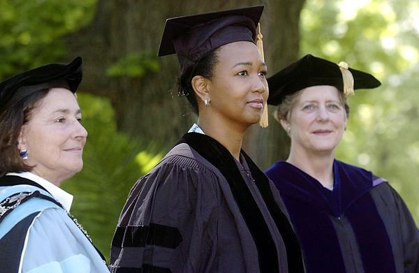 Mae Jemison speaks, receives honorary degree at Wilson College