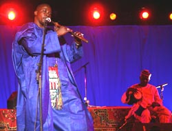 Lindsay Rust who first encountered the Afropop group Mamar Kassey as a Peace Corps volunteer living in Niger in the late &#39;90s is now their agent