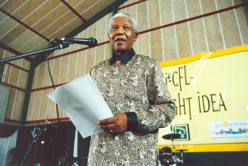 Breaking Taboo, Mandela Says Son Died of AIDS