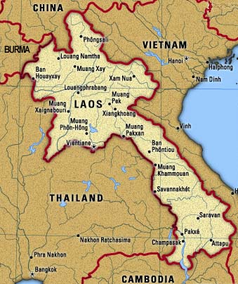 Colm McHugh in Laos says when the Peace Corps were here a few years ago, they were such arseholes that they were asked to leave