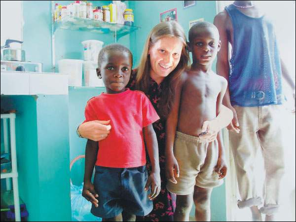 Mariah Lafleur spent more than three years in the Peace Corps, conducting nutritional and health education in Haiti and in the Dominican Republic
