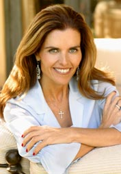 Maria Shriver in China