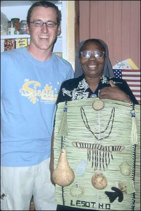 Marty Smith serves as a Peace Corps Volunteer in Lesotho