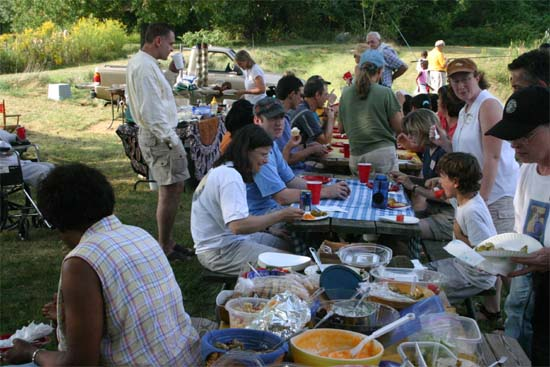 Maryland RPCV's held their Annual Picnic on Saturday, September 17