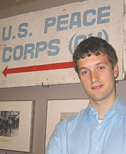 Matt Clancy works in the Office of Private Sector Initiatives at Peace Corps Headquarters