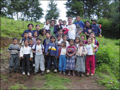 "It was the kindness, fortitude, hard work and hardship of the poor people in Guatemala that struck Matthew ""Mateo"" Paneitz when he first began working there as a Peace Corps volunteer in 2002"