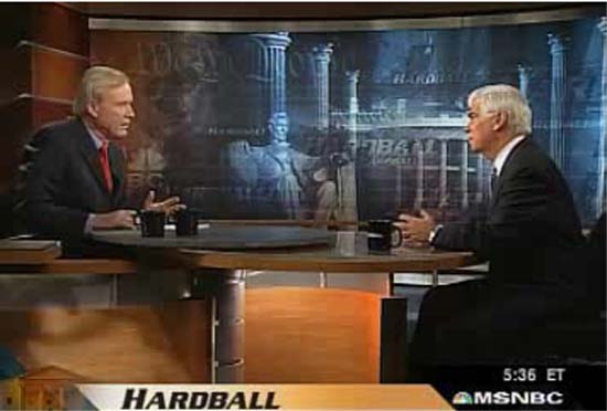 RPCV Chris Matthews interviews RPCV Chris Dodd on Hardball