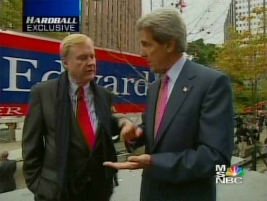 Chris Matthews interviews John Kerry