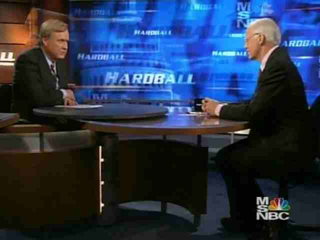 Chris Shays discusses Iraq with Chris Matthews on Hardball