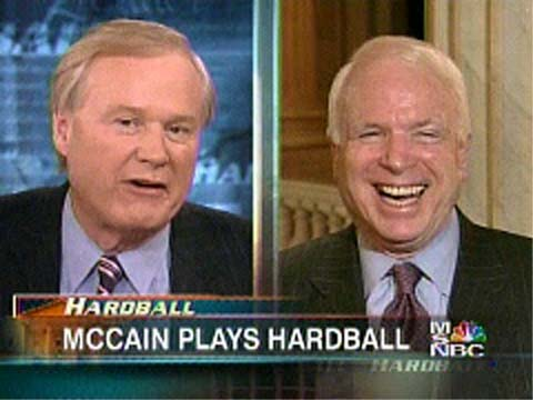 Nora Ephron says: Chris Matthews Loves John McCain