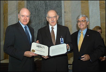 U.S. Treasury honors McPherson with Distinguished Service Award