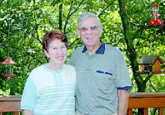 Peace Corps volunteers Tom and Mary Durm Mechtenberg are awaiting their next mission, a Crisis Corps assignment to tsunami-ravaged Sri Lanka. Tom was 74 and Mary 63 when they joined the Peace Corps three years ago.