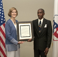 Peace Corps Receives 2005 Medgar Evers Award