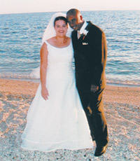For Peace Corps bride Melissa Perkins Joseph and her Haitian groom, Richmond is home now