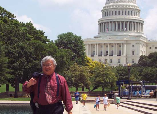 Mike Honda Joins Rally for Hurricane Survivors