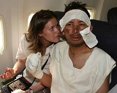 China RPCV Monica Glenn and her new husband, William Zea-Palacios survive plane crash in Peru
