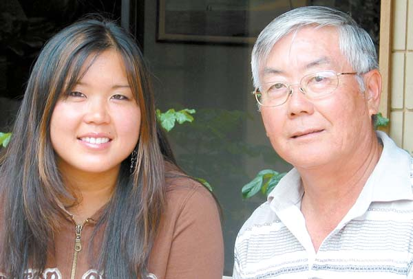 Nicole Nakama will follow in in the footsteps of her father, Ghana RPCV Leebrick Nakama, when she serves as a Peace Corps volunteer in a youth development program in Botswana