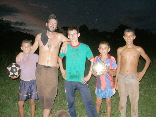 In Paraguay, instead of major changes, Peace Corps Volunteer Nathaniel Brodie learned that he had to shift his expectations to making small changes