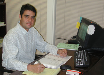 Paraguay RCV Nelson Diarte has joined Texas Cooperative Extension as the new agent for natural resources in Bexar County