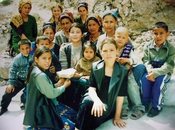 Nicky Mendenhall served as Peace Corps volunteer in Turkmenistan