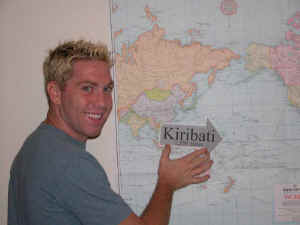 Nic Mount goes to Kiribati in Peace Corps