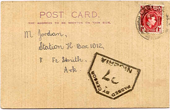 Students in Nigeria remember Michelmore postcard from 1961