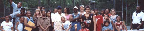 The Norwalk Grassroots Tennis program was started in 1995 by Ethiopia Arthur Goldblatt