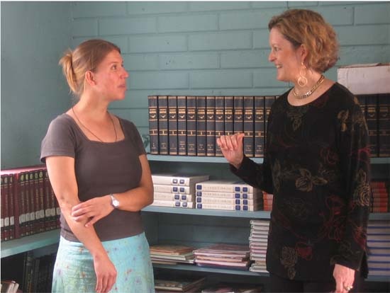 Peace Corps Deputy Director Jody Olsen Visits Belize
