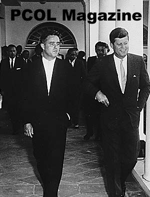 JFK Presidential Library Opens Sargent Shriver Collection