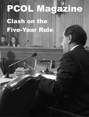 Year 04 Issue 07:  June 30, 2004: Clash on the Five-Year Rule