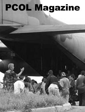 Evacuation of Peace Corps Volunteers from Ivory Coast in 2002
