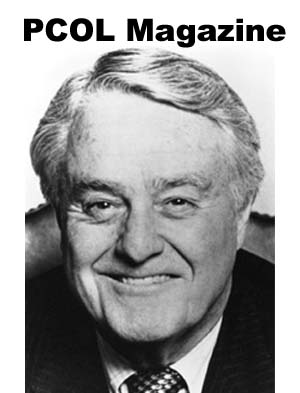 Sargent Shriver, first director of the United States Peace Corps, recalled Larry Horan's years as the director of the Peace Corps in Colombia, Costa Rica, and El Salvador