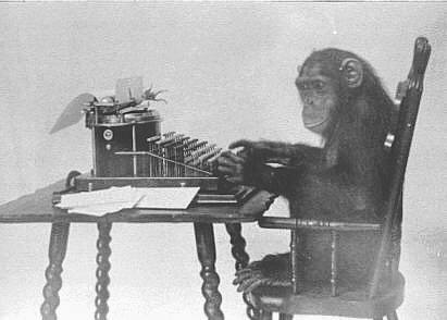  Monkey Typing