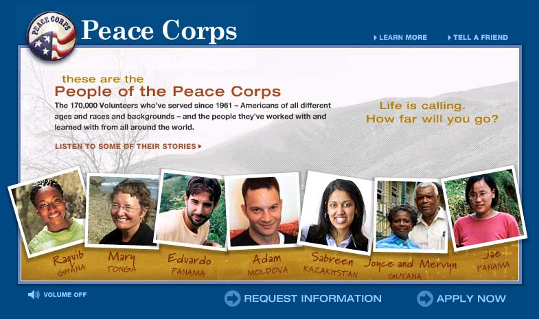 These are the People of the Peace Corps