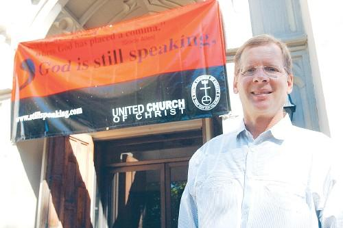 Togo RPCV Peter Lovett, Pastor of Christ Church United in Lowell, hopes to create a home for parishioners