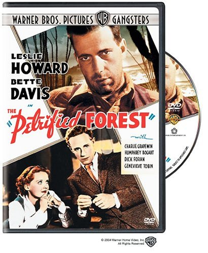 Film historian Eric Lax (RPCV Micronesia) offers an encyclopedic commentary on The Petrified Forest ( 1936 ) , which many film experts consider one of the earliest examples of �film noir.�