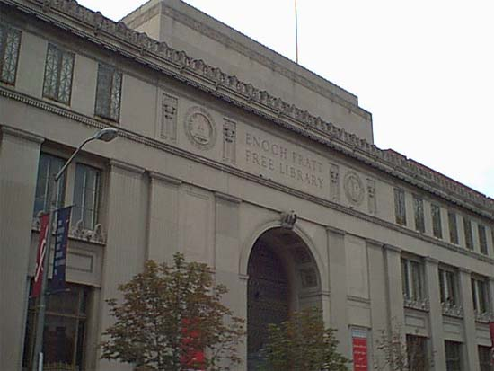  Pratt Library in Baltimore
