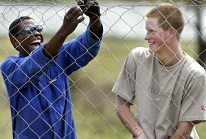 Prince Harry visits Lesotho orphanage directed by Peace Corps Volunteer  Miranda Lopez