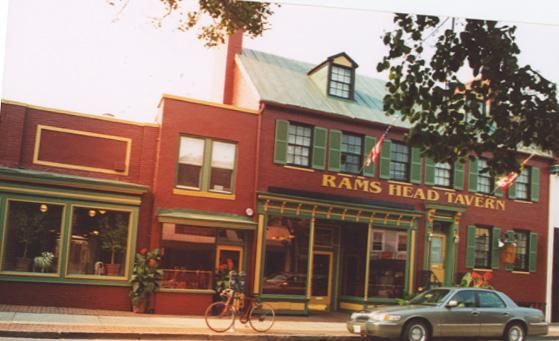 Join the Maryland Returned Volunteers at the Ram's Head Tavern in Annapolis this Friday for our Happy Hour