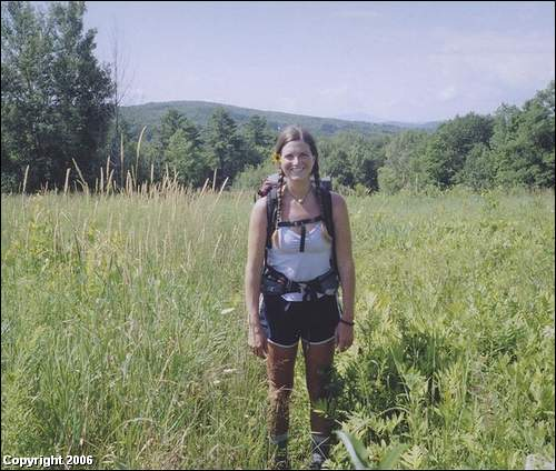 Dominica RPCV Sadie Tamplin hiked the Appalachian Trail last year